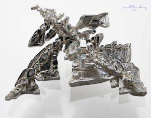 Výskyt stříbra v přírodě