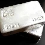 Stříbrná cihla 1kg