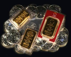 Rozdíly mezi stříbrem a zlatem