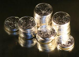 Strategie menšího nákupu stříbra